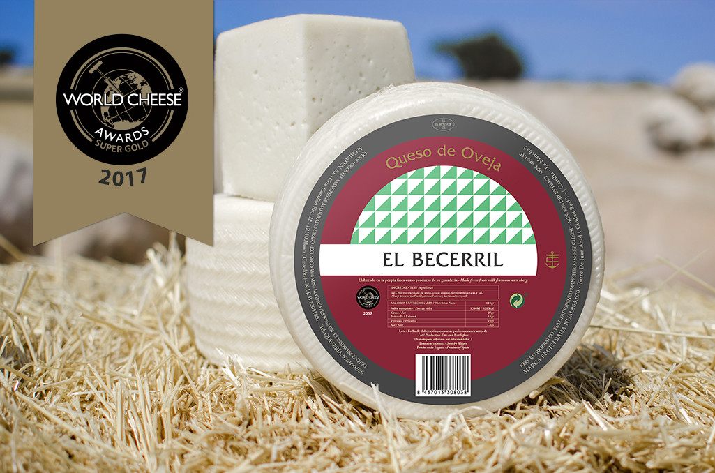 Soft ewe's milk cheese El Becerril